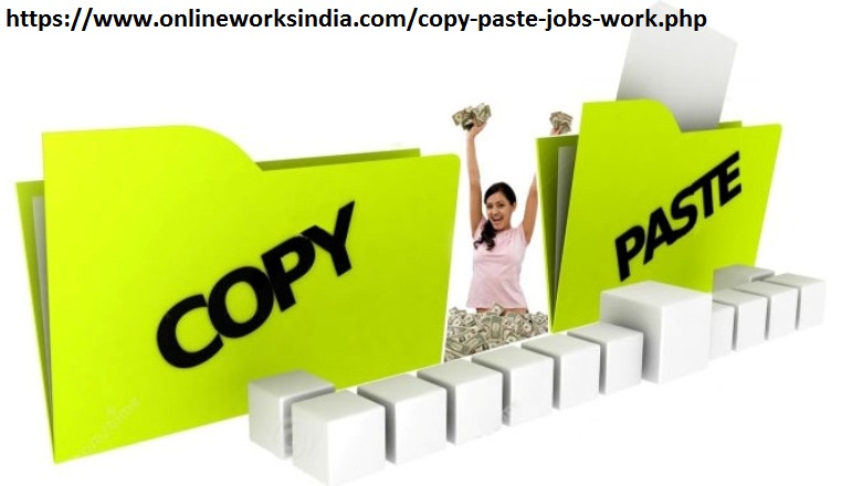 Earn Money through Copy Paste Jobs