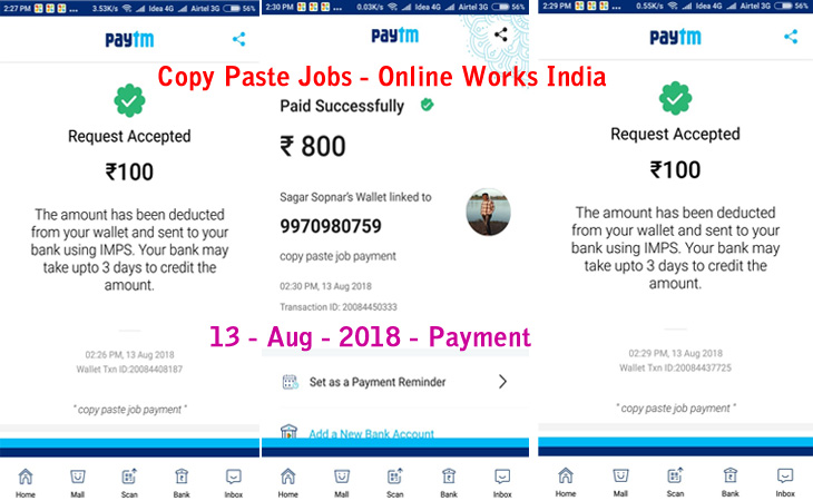 on online form filling jobs for students without investment
