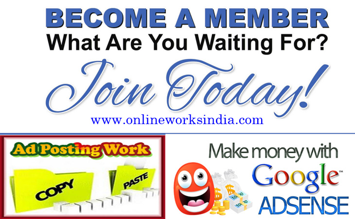 Join Online Works India 2018