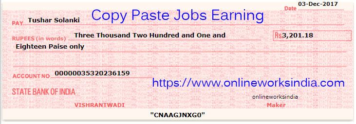 online jobs payments